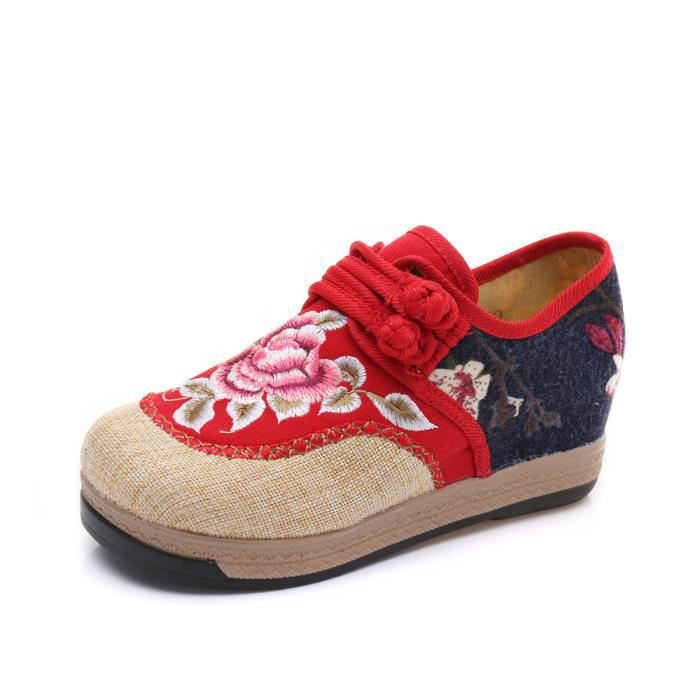 Baskets Baskets Chaussures Brodées Femme Baskets Chaussures Femme Brodées r5qwxHr