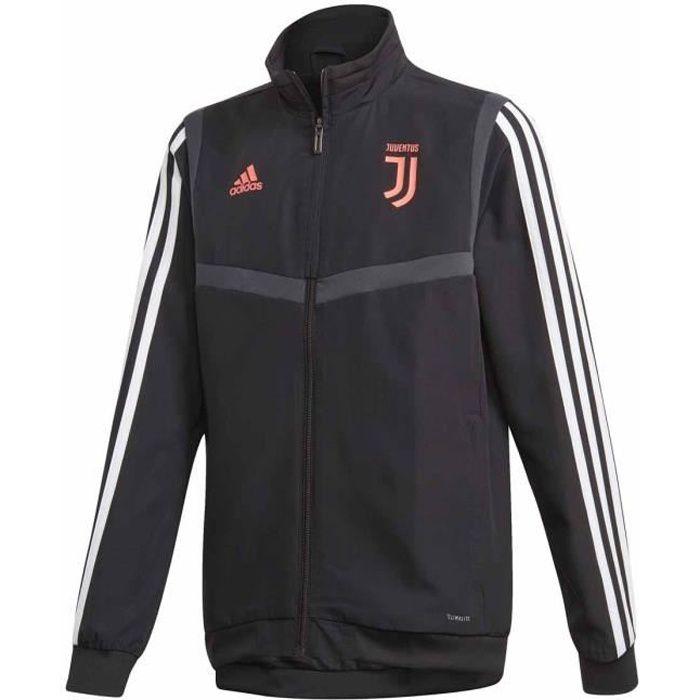 Veste Adidas Performance Juventus Junior Garçon Noir