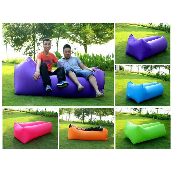 vinus gonflable air bag repaire laybag canap lit beach. Black Bedroom Furniture Sets. Home Design Ideas