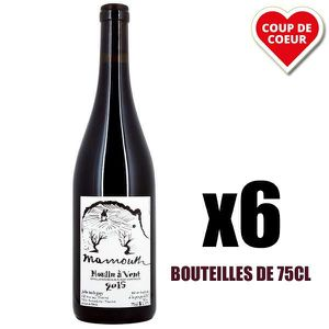 VIN ROUGE X6 Mammouth Rouge 2015 75 cl Domaine Balagny Julie