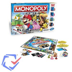 JEU SOCIÉTÉ - PLATEAU Jeu de société Monopoly plateau Gamer C1815 Versio