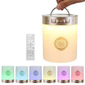 ENCEINTE NOMADE NEUFU Enceinte Bluetooth Portable Coran Touch Lamp