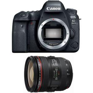 APPAREIL PHOTO RÉFLEX CANON EOS 6D MARK II + EF 24-70mm f/4 L IS USM Gar