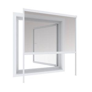 MOUSTIQUAIRE OUVERTURE Store moustiquaire enroulable aluminium 130 x 160