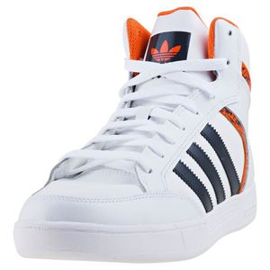 new cheap 2018 sneakers where to buy Adidas Varial Mid Hommes Baskets Blanc Orange - 10 UK Blanc ...