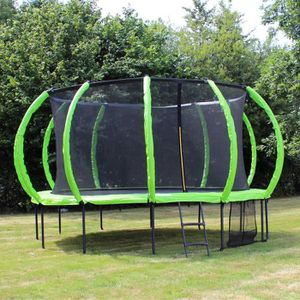 TRAMPOLINE SOULET Trampoline Courbé Ø 4.20 m avec Filet Antic