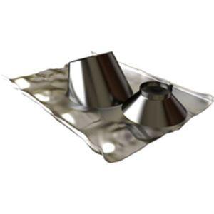 VMC - ACCESSOIRES VMC Ten Solin 30 à 45 INOX + collet diamètre 80 125mm