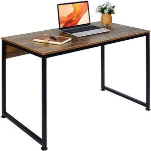 BUREAU  VECELO Table de Bureau Design Moderne, Table d'Ord
