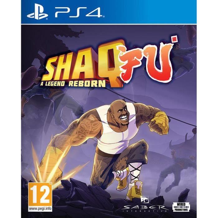 JEU PS4 Shaq Fu A Legend Reborn Jeu PS4