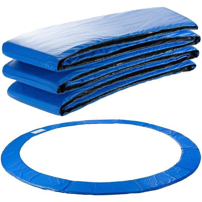 AREBOS Coussin de Protection des Ressorts Pour Trampoline 244 cm Bleu