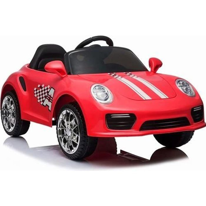 Booster 6v Rouge - Voiture électrique pour enfant avec batterie 6v et télécommande