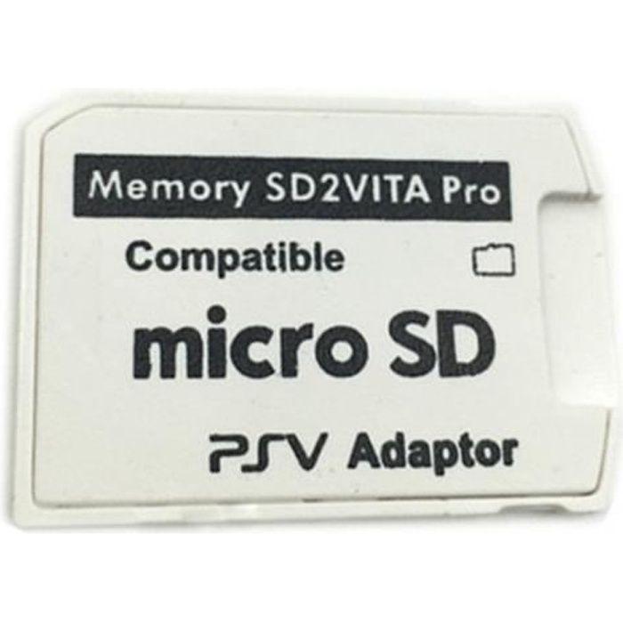 5.0 SD2 Vita Pour Carte Mémoire Adaptateur pour PS Vita Game Card1000 / 2000 3.60 Système