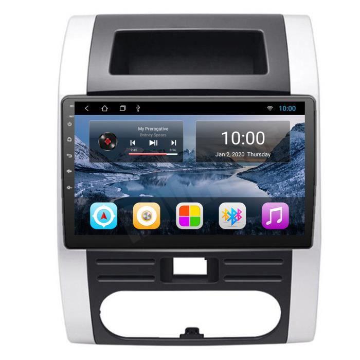 RoverOne Autoradio GPS Bluetooth pour Nissan X-trail Xtrail 2008-2013 Android Stéréo Navigation WiFi Écran Tactile