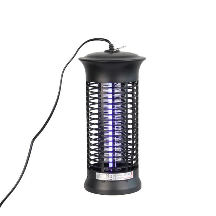 Tueur anti-moustique lampe UV sans rayonnement électrique choc Mosquito tueur Fly Pest insectes insecte lumière ANTI-MOUSTIQUE