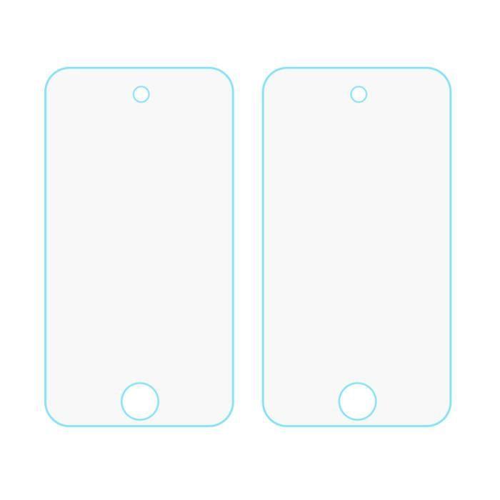 2 PCS 9H dureté 2.5D Anti-empreintes digitales en verre trempé anti-déflagrant Film protecteur d'écran pour iPod Touch 6