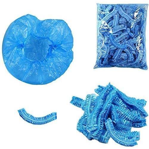 BONNET DE DOUCHE 100 bonnets de douche, bonnets de douche jetables,Bonnet de douche -eacute,tanche,Bonnet de Soin des Cheveux Je69