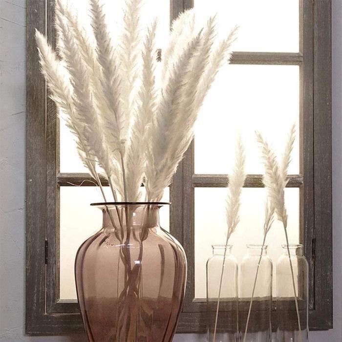 VASE - SOLIFLORE Beverl – Lot de 15 roseaux s&eacutech&eacutes pour d&eacutecoration de maison, h&ocirctel, mariage1473