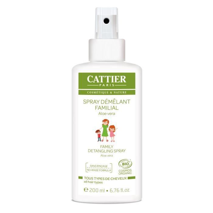 CATTIER Spray Démêlant Familial Bio 200 ml
