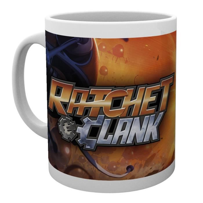 Tasse a cafe Ratchet and Clank  All For One