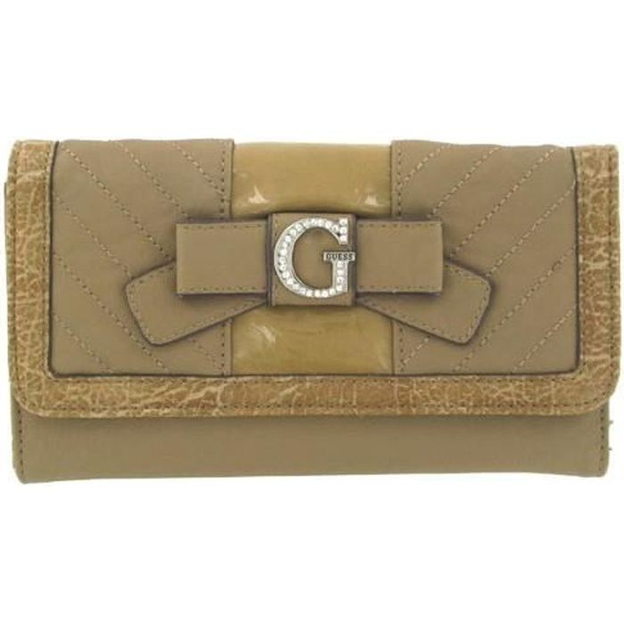 Portefeuille Guess VY357638 beige XL