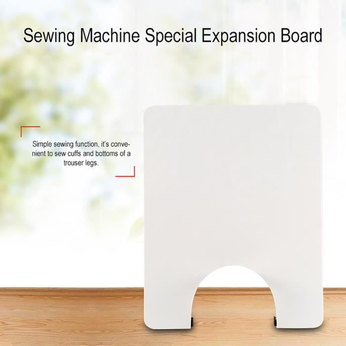 Carte d'extension spéciale pour machine à coudre
