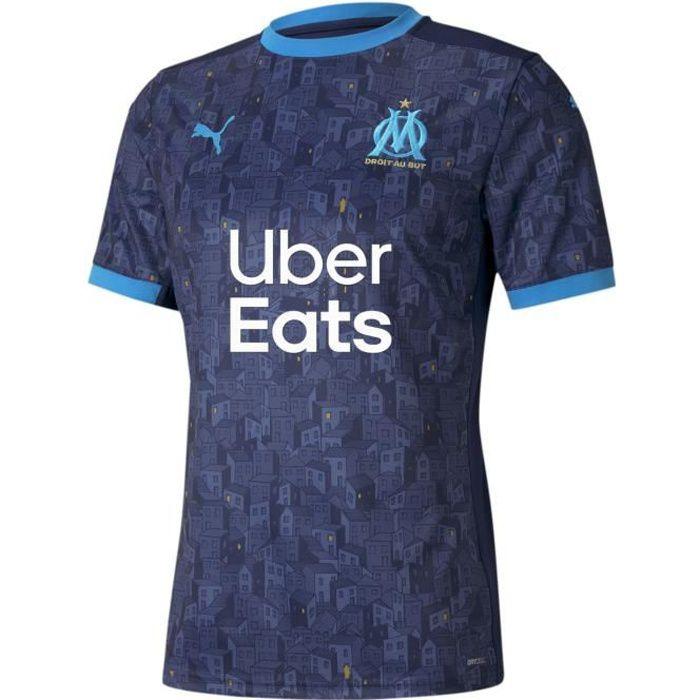 Maillot Puma Om Exterieur 2020/21 bleu homme