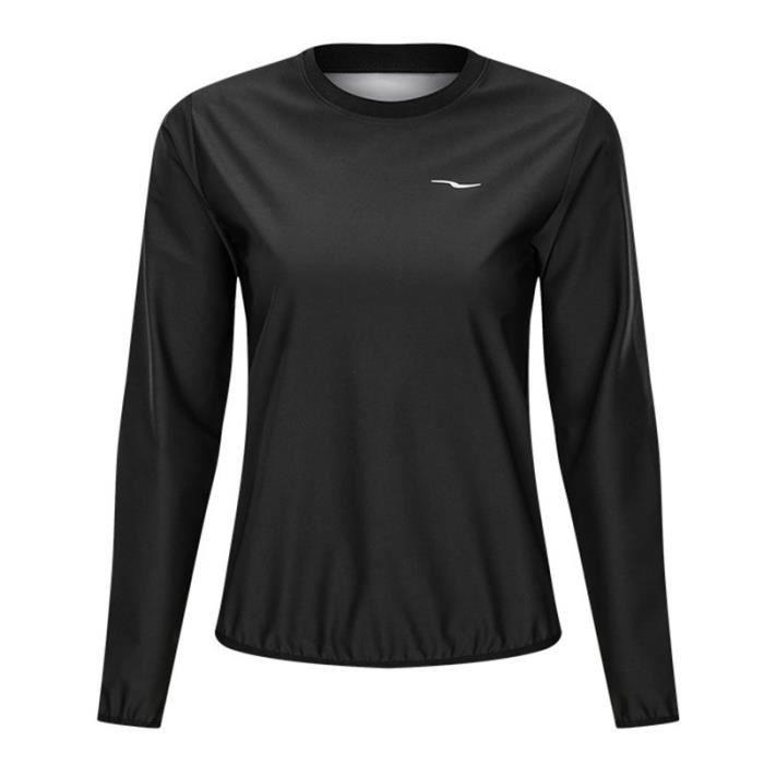 T-shirt de Sudation Homme Elastique Fitness Musculation Brûler des graisses Suer plus Cycle de chaleur