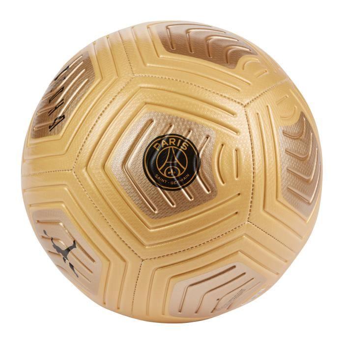 Ballon PSG Strike 2020/21 - or/noir - Taille 5