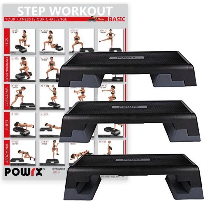 POWRX Step professionel (101 x 36 cm)