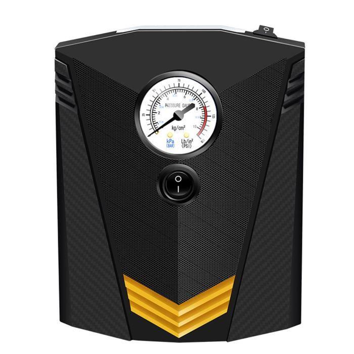 SUPER Compresseur d'Air Auto LED Lumière Gonfleur Pneu Pompe Voiture Max 150psi 120W 35L/min 12V pointeur