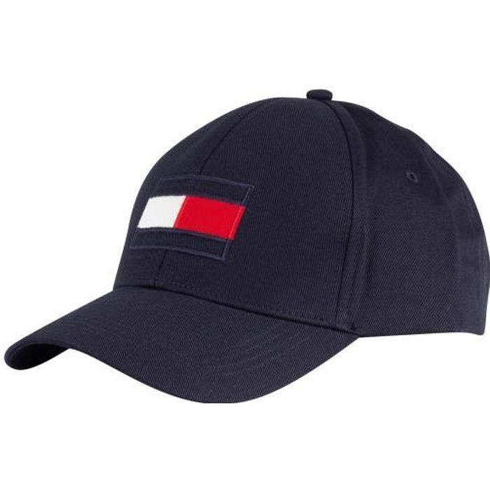 Tommy Hilfiger Homme Casquette Big Flag, Bleu taille One Size 32463-1
