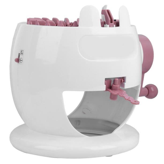 ZJCHAO jouet de machine à coudre pour enfants Bricolage main tricot machine à coudre enfants tissage jouet outil accessoire 22