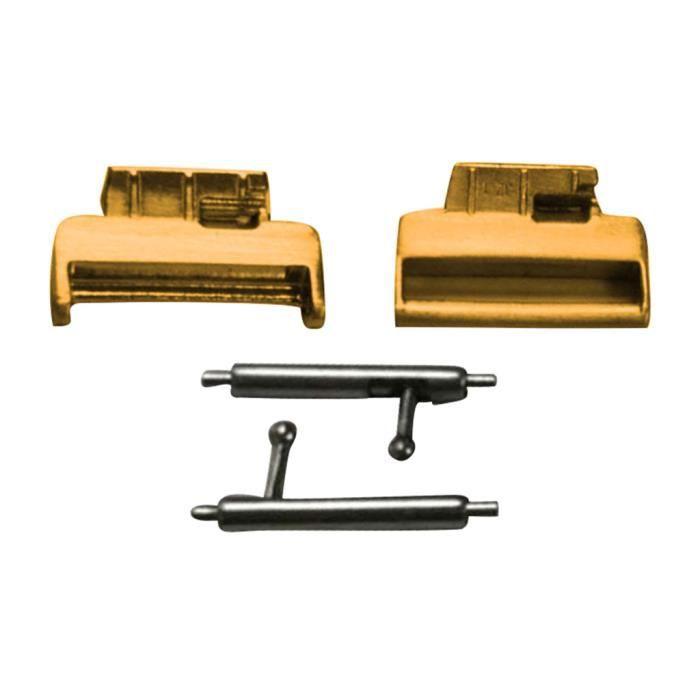 BRACELET MONTRE CONNEC. 3Pair bande Bracelet en acier inoxydable adaptateu