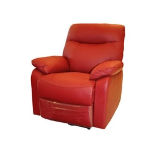 fauteuil relax lectrique coloris rouge achat vente. Black Bedroom Furniture Sets. Home Design Ideas
