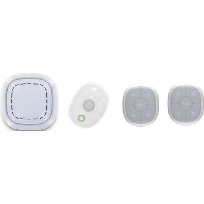 KIT ALARME Kit Alarme Maison Sans Fil Connecté 3 En 1 - Détec