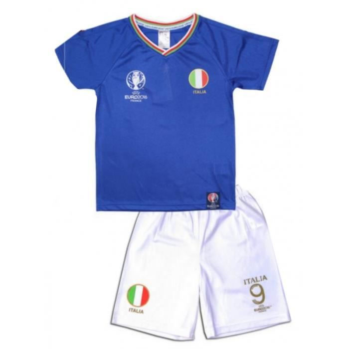 ensemble short et maillot de foot italie uefa euro 2016. Black Bedroom Furniture Sets. Home Design Ideas