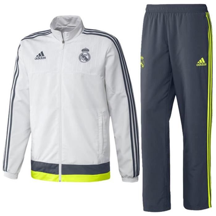 veste survetement real de madrid homme adidas