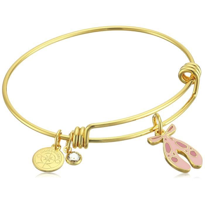 Ballet Shoes Bangle Bracelet ZYJ5L