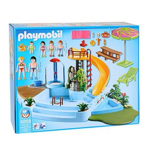 Playmobil grand hotel achat vente jeux et jouets pas chers for Piscine play mobile