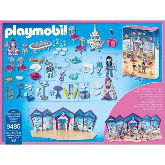 Playmobil Calendrier.Playmobil 9485 Calendrier De L Avent Bal De Noel Au Salon De Cristal Nouveaute 2019