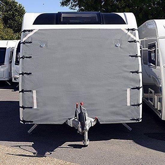 Housse de protection universelle pour attelage avant de caravane avec /éclairage LED