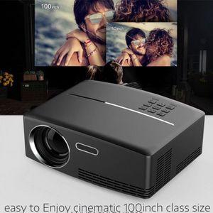 Vidéoprojecteur VIDEOPROJECTEUR 4K Portable LED 3D HD 1080P Home T