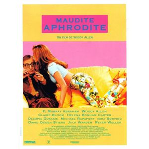 AFFICHE - POSTER Maudite Aphrodite - 1995 - Woody Allen Avec Helena