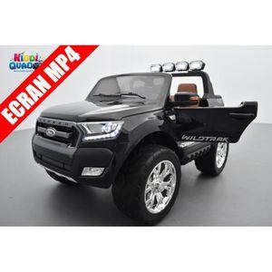 VOITURE ELECTRIQUE ENFANT Ford Ranger 2 x 12V Noir Shadow métallisé avec tél