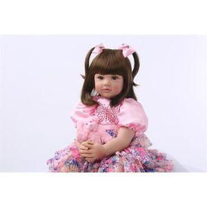 POUPÉE Silicone Reborn Bébé Poupée Jouets 60 cm Princesse