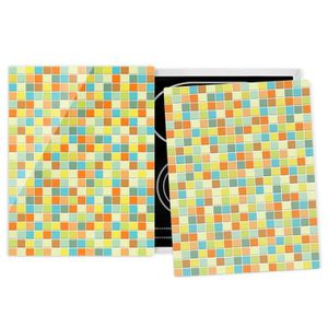 PLAQUE INDUCTION Couvre plaque de cuisson - Mosaic Tiles Summer Set