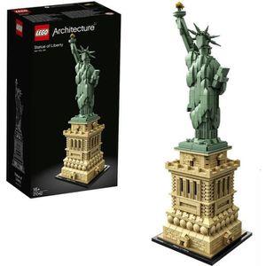 ASSEMBLAGE CONSTRUCTION LEGO® Architecture 21042 La Statue de la Liberté -