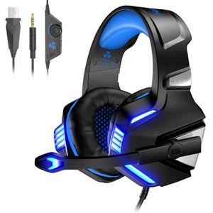 CASQUE - ÉCOUTEURS Casque Gaming pour PS4 PC Xbox One, Casque Gamer A