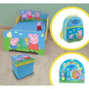 CHAMBRE COMPLÈTE  PEPPA PIG Pack chambre enfant complète - modèle al