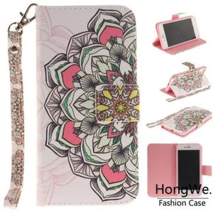 HOUSSE - ÉTUI Pour Apple iPhone 7-8 Demi fleur Cas de téléphone